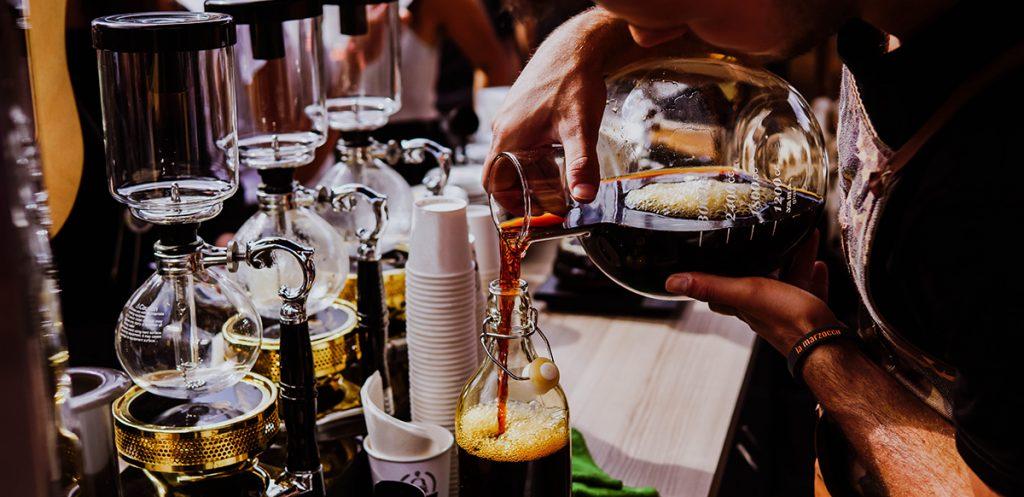 kvapų marketingas kavos versle